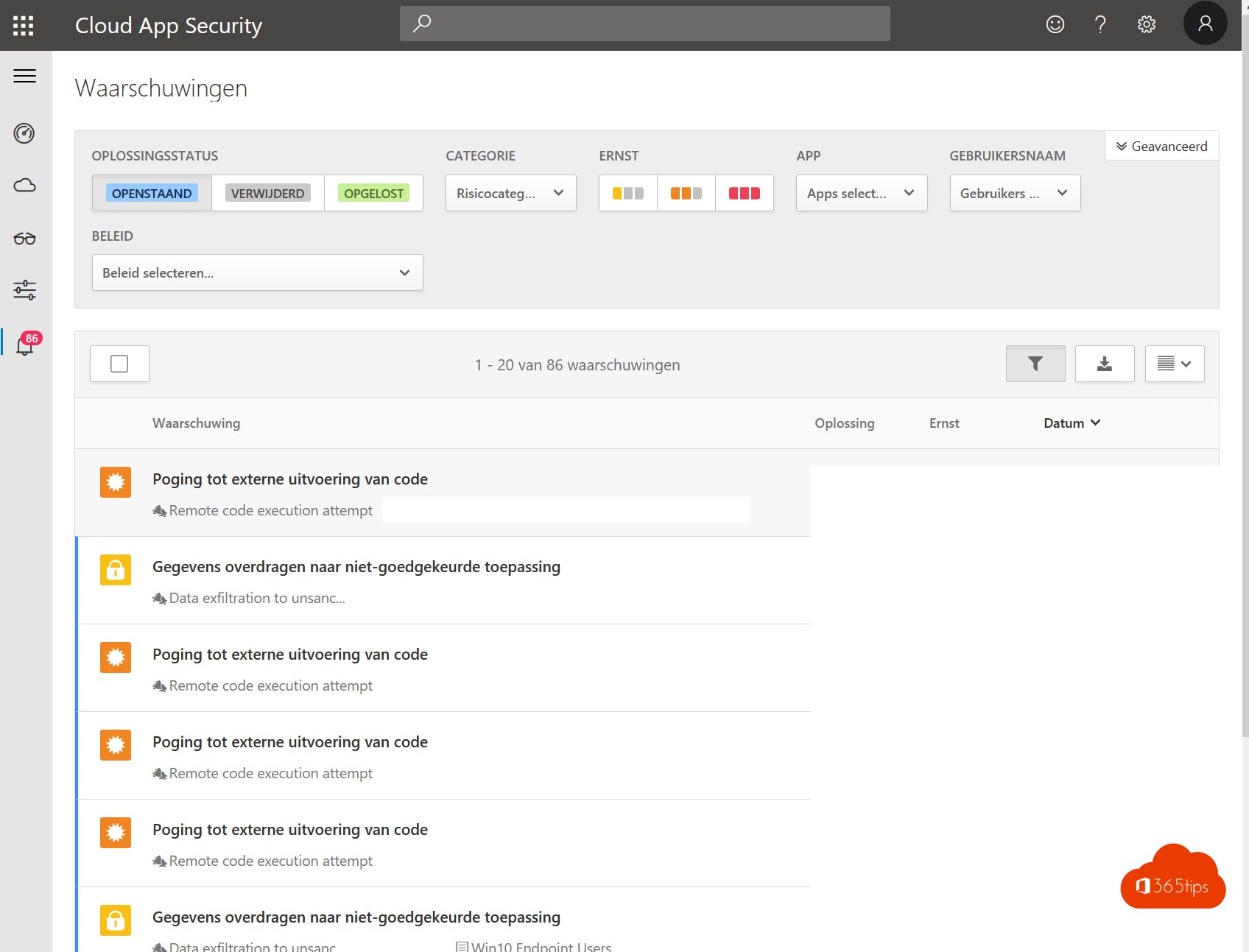 Cloud App Security automation