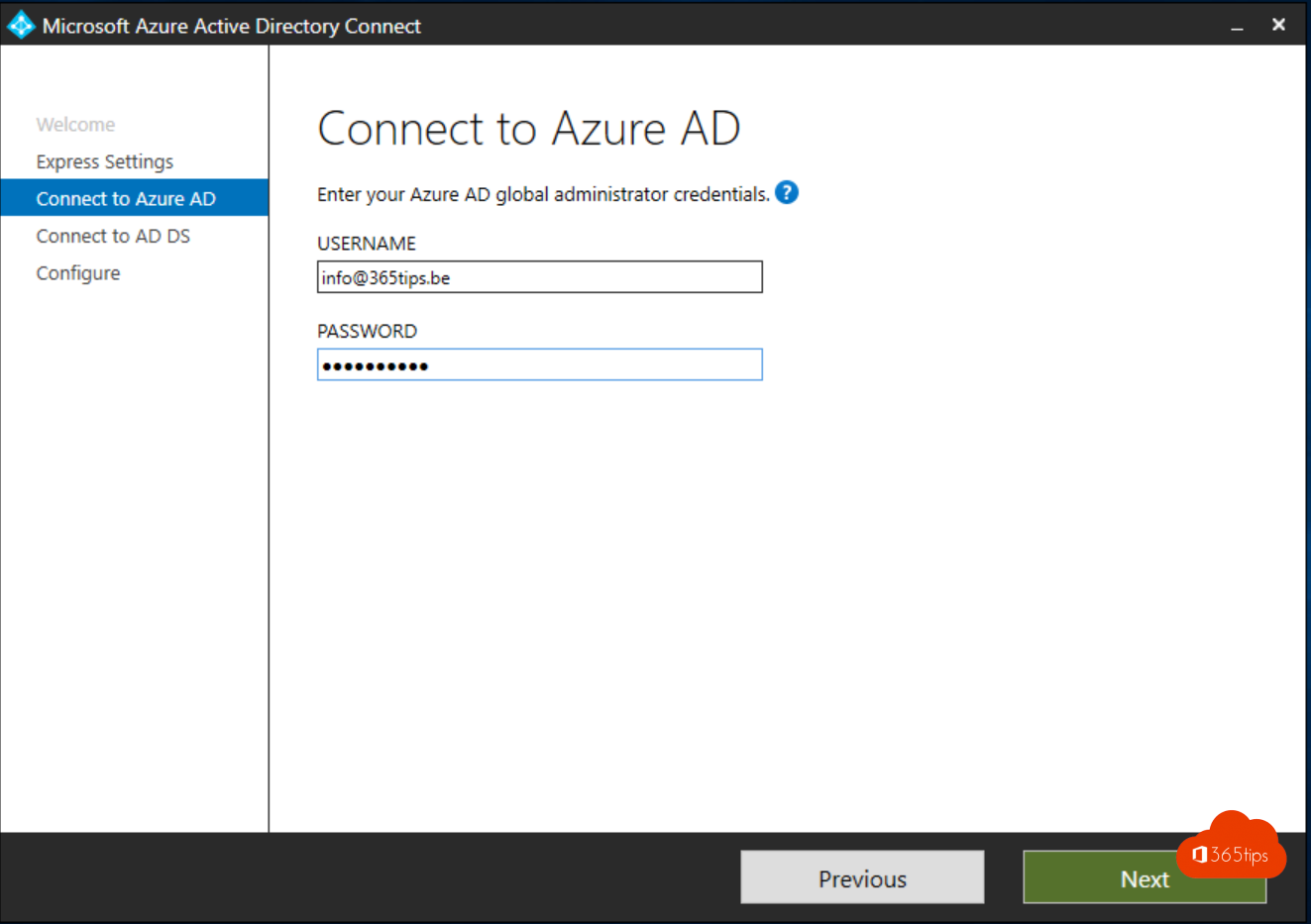Azure AD connect configuratie in 4 stappen