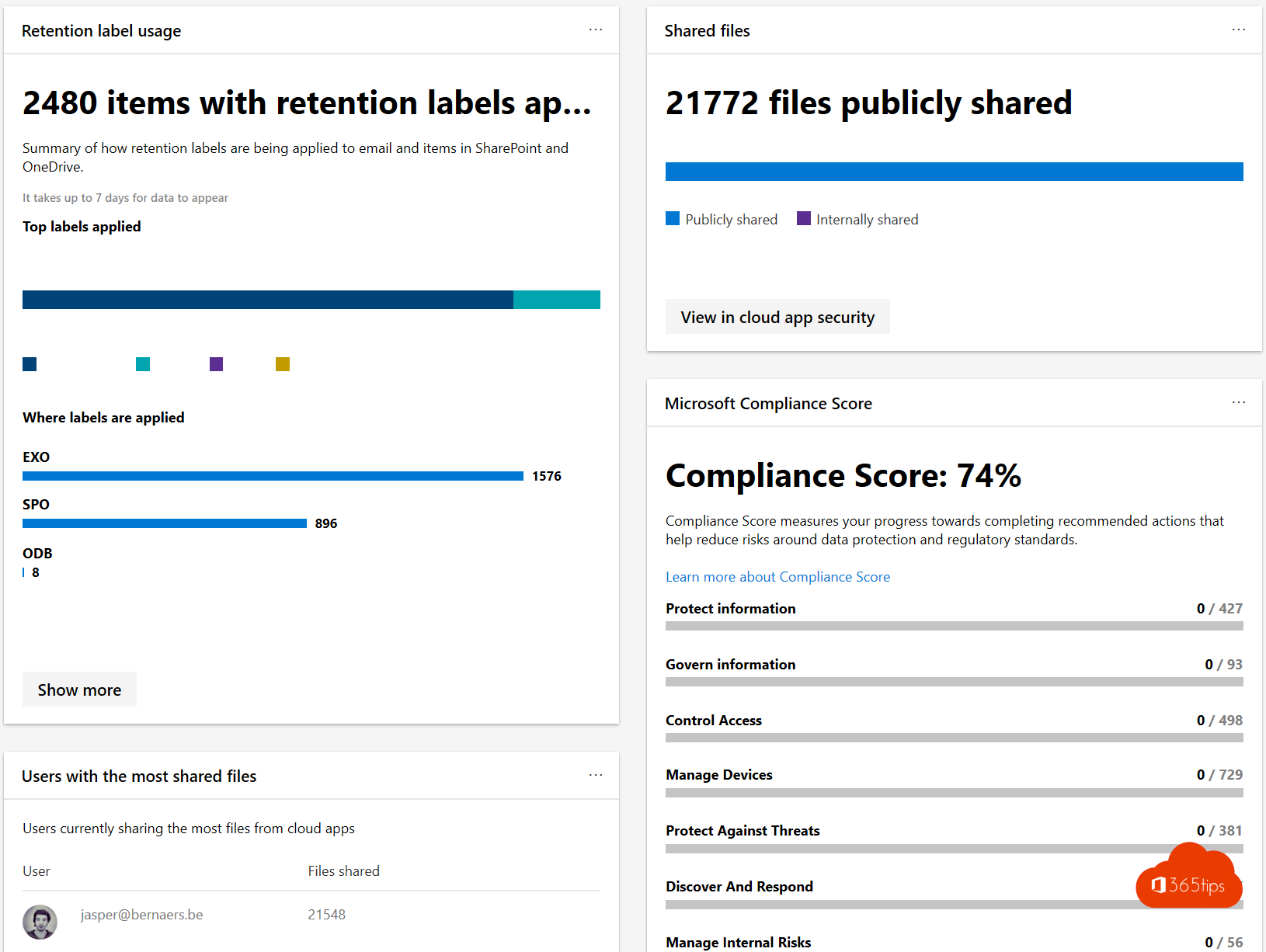 Retention Labeling Microsoft 365