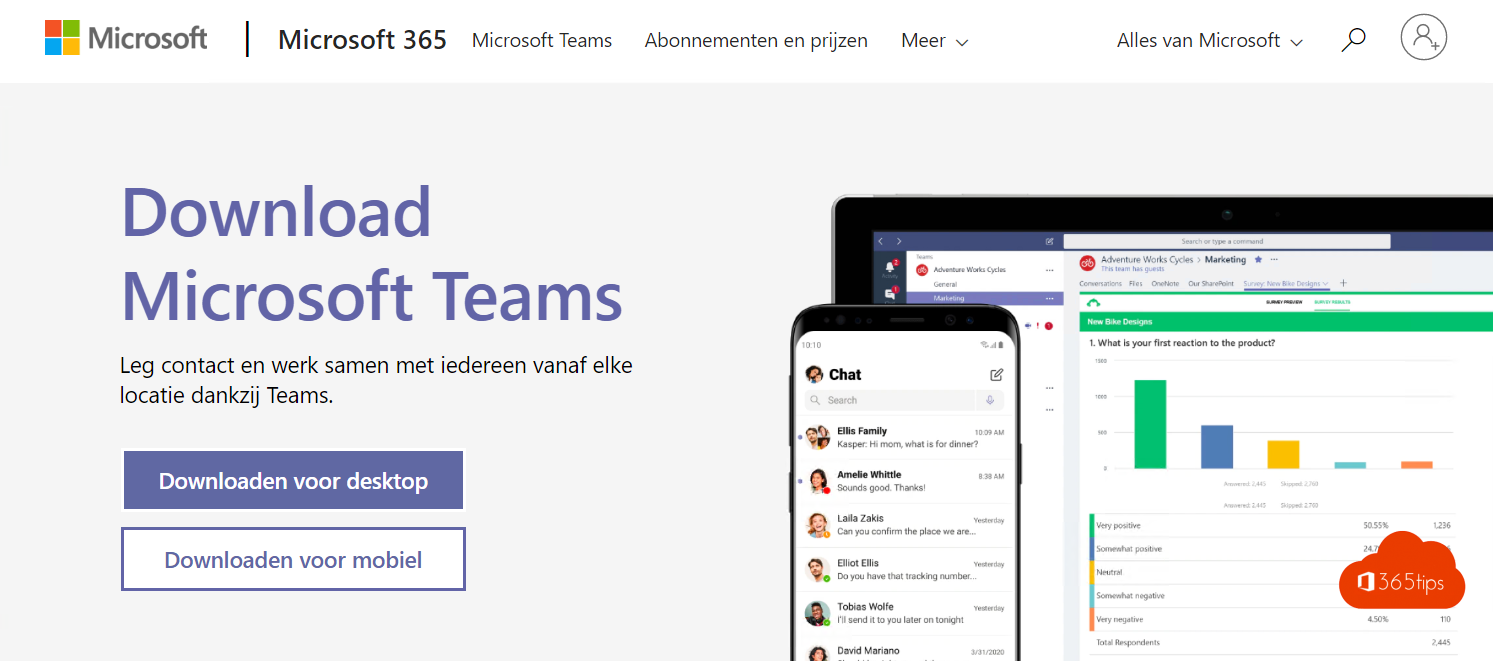 Microsoft Teams downloaden en installeren