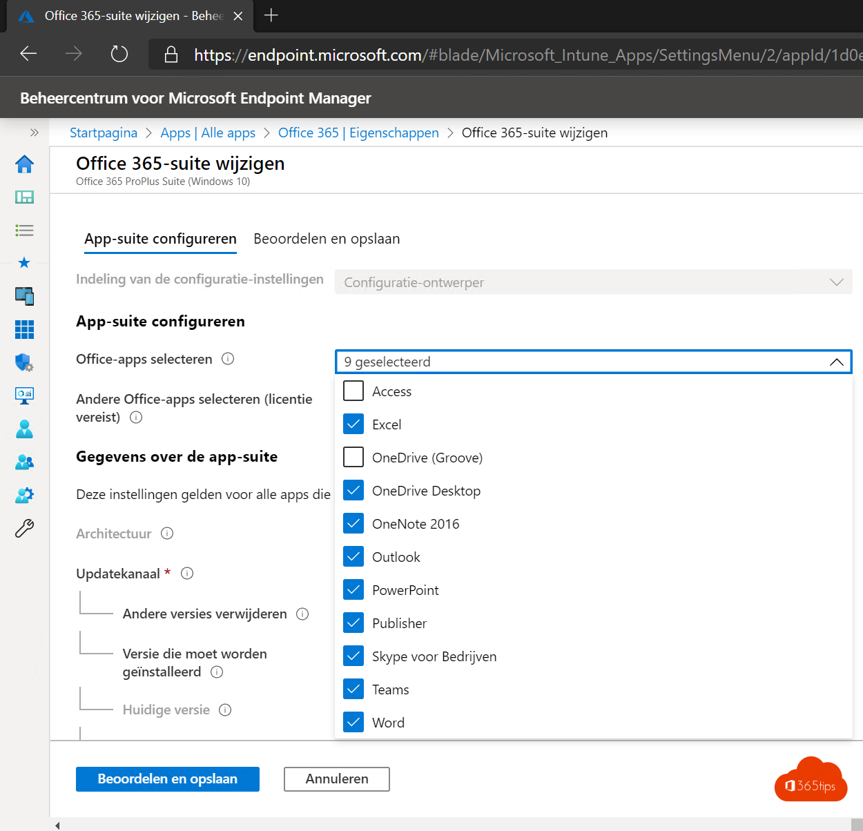 Applicaties packagen en uitrollen in Microsoft Endpoint manager