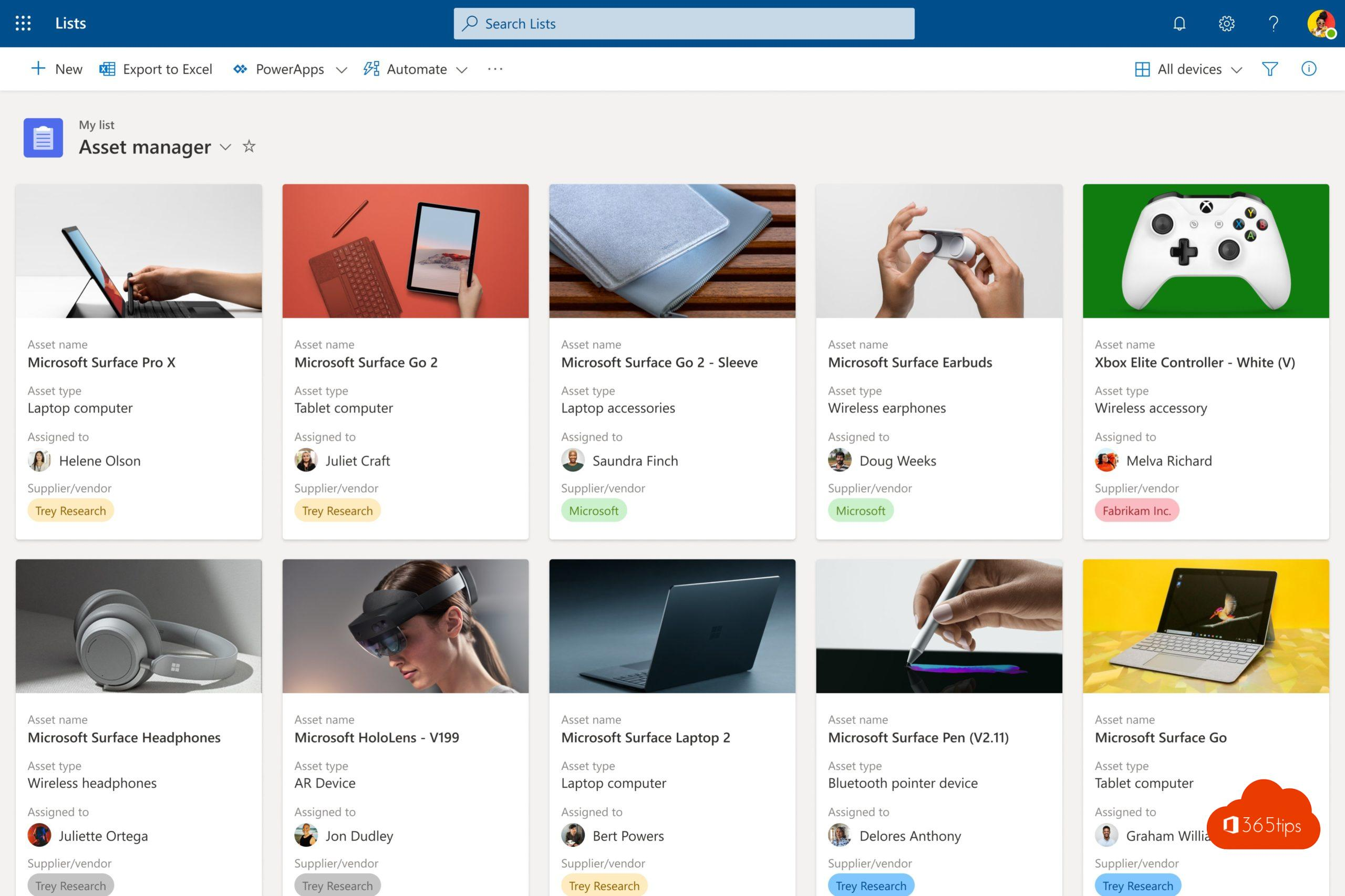 #1 Lists – Intelligente lijsten gebouwd op SharePoint