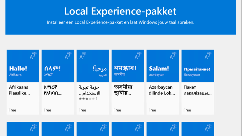 Windows 10 in het Nederlands instellen