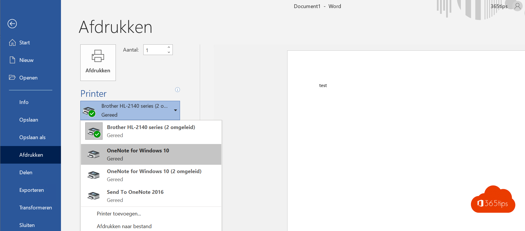 Bestanden opslaan in OneNote 2016 of OneNote voor Windows 10