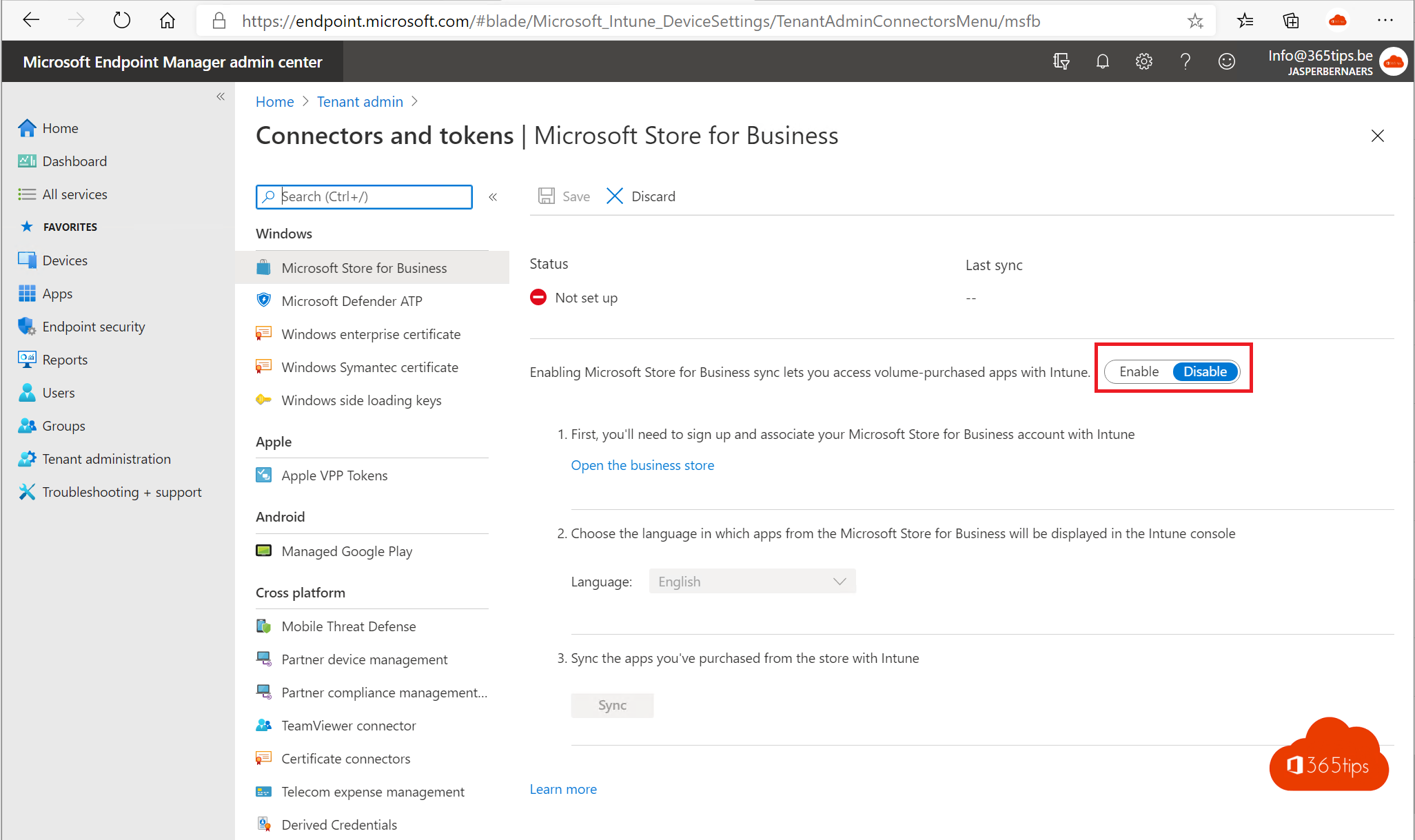Microsoft Intune Company Portal installatie – Endpoint manager