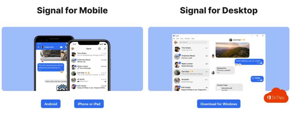 Download Signal Instant messaging