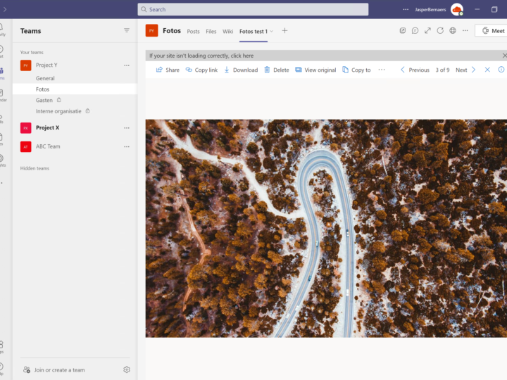 Fotogallerijen in Microsoft Teams – Best practise! 📷