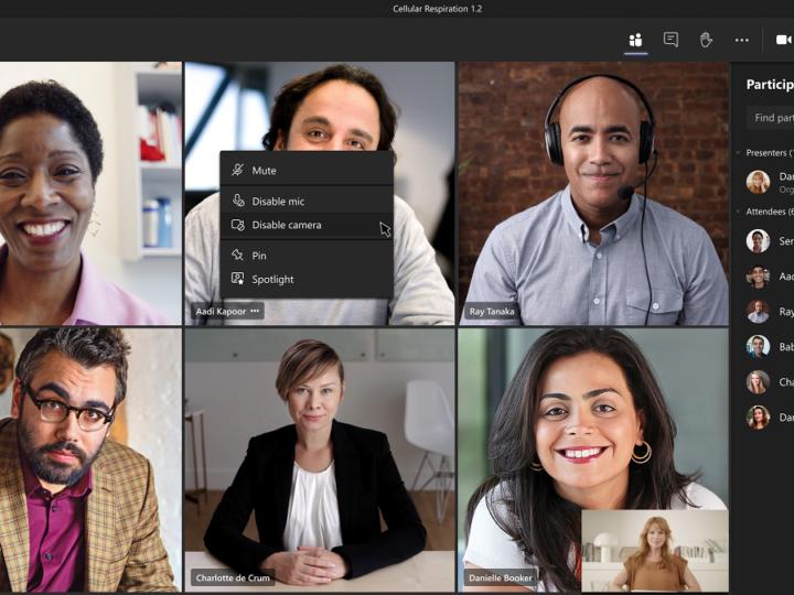 Hoe kan je de camera van deelnemers uitschakelen in Teams-vergaderingen?